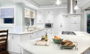 White, bright and beautiful kitchen remodel